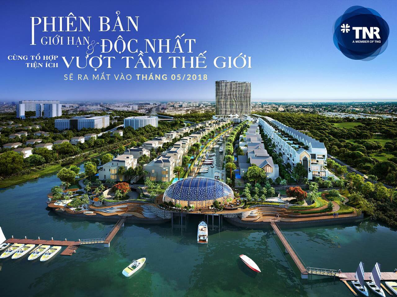 Dự Án Evergreen - The Best Marina