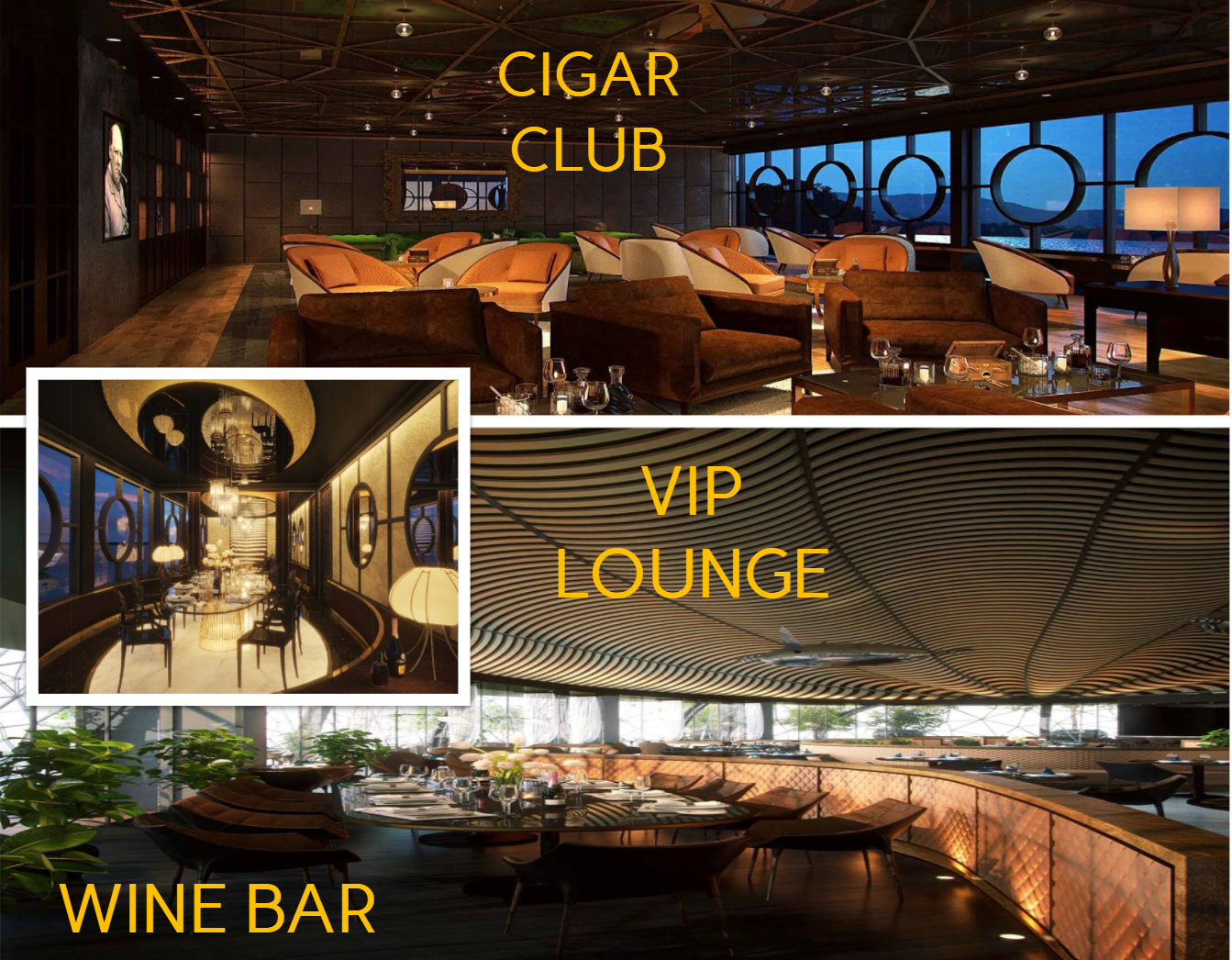 Cigar Club - Vip Lounge - Wine Bar - Marina Club